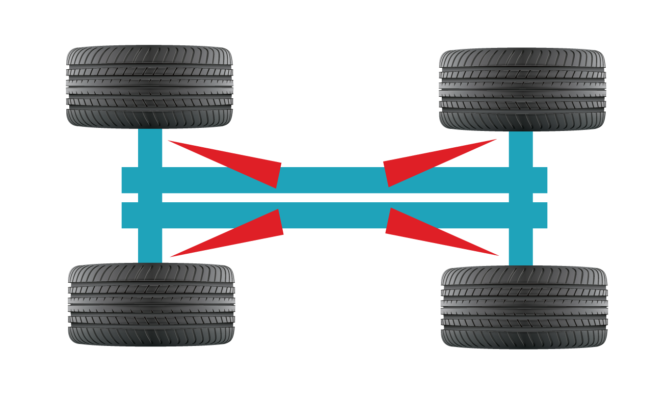 Laser Wheel Alignment service provided by Ashdene's Garage
