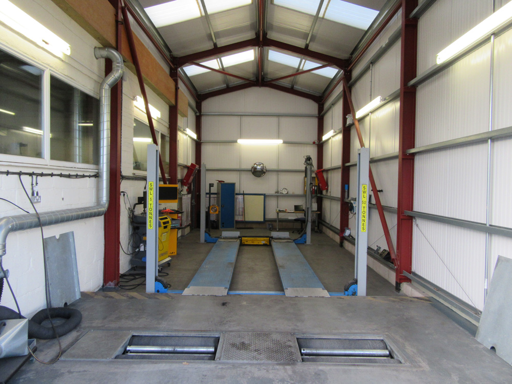 New MOT Centre at Ashdene's Garage